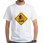 Cycle X-ing White T-Shirt