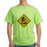 Cycle X-ing Green T-Shirt