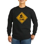 Cycle X-ing Long Sleeve Dark T-Shirt