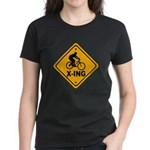 Cycle X-ing Women's Dark T-Shirt