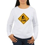 Cycle X-ing Women's Long Sleeve T-Shirt