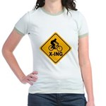 Cycle X-ing Jr. Ringer T-Shirt