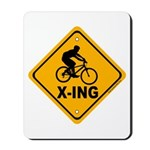 Cycle X-ing Mousepad