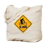 Cycle X-ing Tote Bag