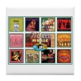 World Music Tile Coaster