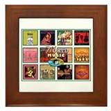 World Music Framed Tile