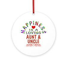 Aunt & Uncle Ornament (Round)