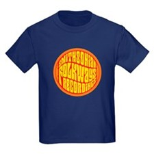 Folkways Recordings Kids Dark T-Shirt