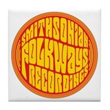 Folkways Recordings Tile Coaster