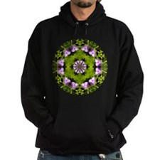 Spiderwort and Ferns Hoodie