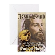 JESUS YOUTH Greeting Card