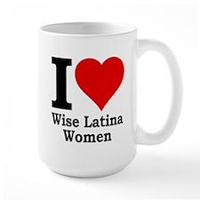 Heart Wise Latina Mug