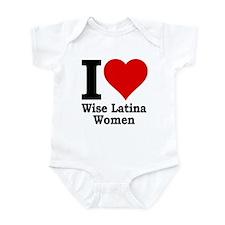 Heart Wise Latina Infant Bodysuit
