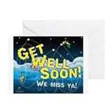 Cute Drinks Greeting Cards (Pk of 10)