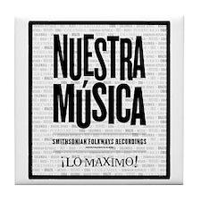 Nuestra Musica Tile Coaster