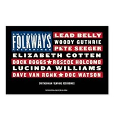 Folkways Artists Postcards (Package of 8)