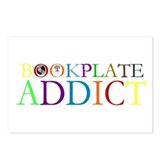 Bookplate Addict Postcards (Package of 8)