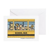 First Day of School Blank Greeting Card