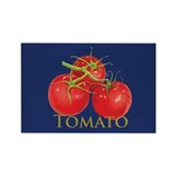 Plump Red Tomatoes Rectangle Magnet