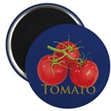 "Plump Red Tomatoes 2.25"" Magnet (100 pack)"