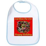 Happy Holiday Bib