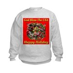Happy Holiday Kids Sweatshirt