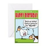 The &amp;quot;BIG ONE&amp;quot;! Greeting Card