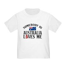 Somebody In Australia T