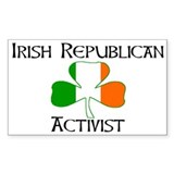 Irish Activist Rectangle Decal