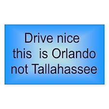 Orlando n TA Rectangle Decal
