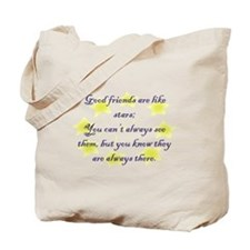 Friends are like Stars Tote Bag