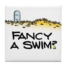 Fancy a Swim? Tile Coaster