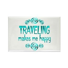 Traveling Rectangle Magnet (10 pack)