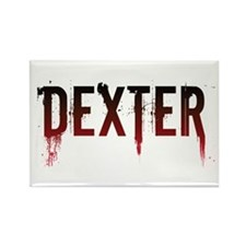 Dexter [text] Rectangle Magnet