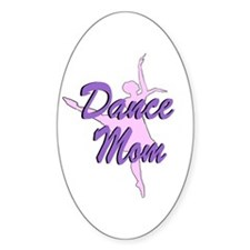 Dance Mom Oval Decal