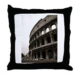 The Colosseum in Roma Throw Pillow