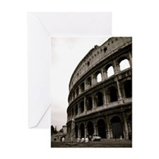 The Colosseum in Roma Greeting Card