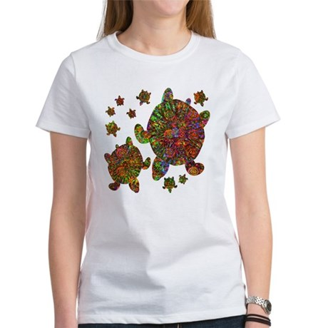 Sea Turtle Family Women's T-Shirt