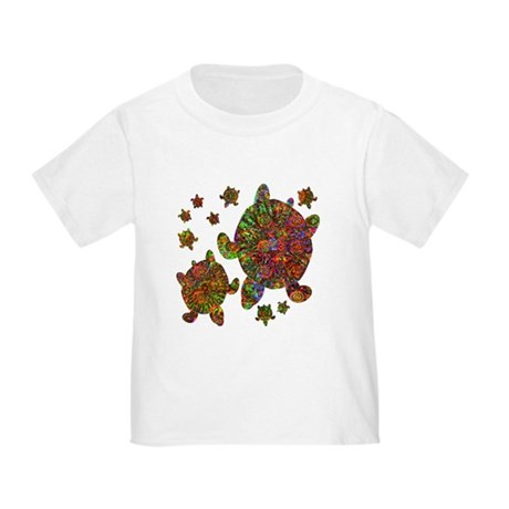 Sea Turtle Family Toddler T-Shirt
