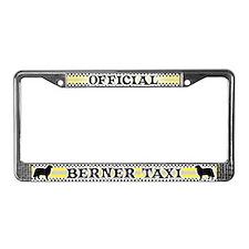 Official Berner Taxi License Plate Frame