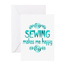 Sewing Greeting Card