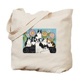 MONTANA & FRIENDS Market Tote or Book Bag