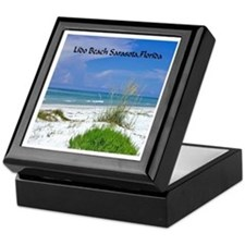 Lido Beach, Sarasota, Florida Keepsake Box