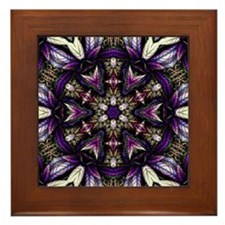 Persian Shield Framed Tile
