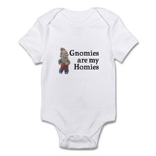 Gnomies are my Homies Infant Bodysuit