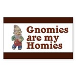 Gnomies are my Homies Rectangle Sticker 10 pk)