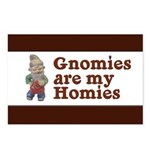 Gnomies are my Homies Postcards (Package of 8)