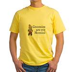 Gnomies are my Homies Yellow T-Shirt