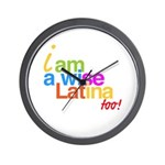 Wall Clock reloj pared wise latina sonia sotomayor