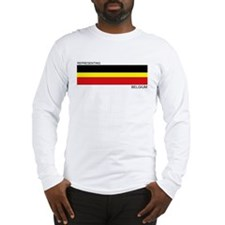 Cute Belgium Long Sleeve T-Shirt